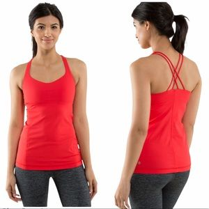 Lululemon Free to Be Tank Love Red Size 4